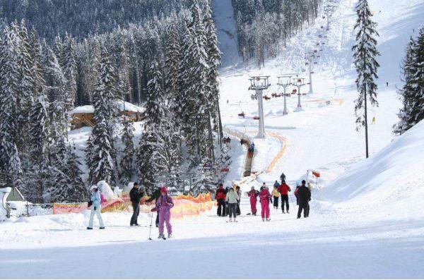 Лыжные трассы, Буковель
