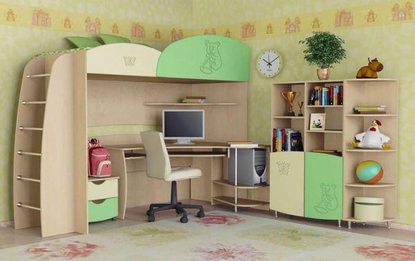 Мебель для детской комнаты: что учесть при выборе
