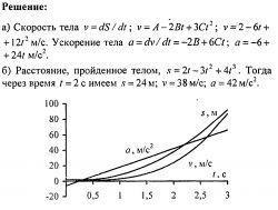 Решение задач по физике №5. Физические основы механики. Кинематика.