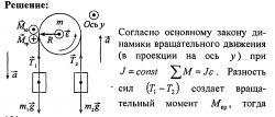 Готовые решения задач и контрольных по физики. Вращательное движение №3