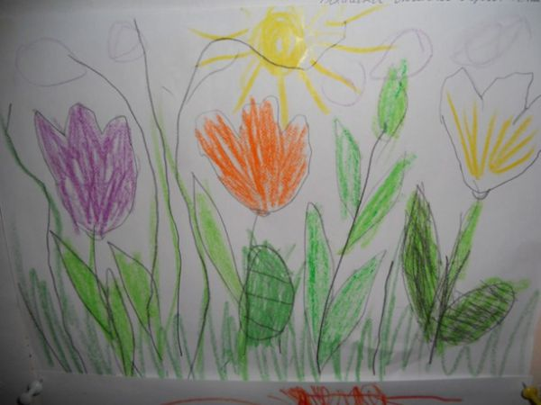 Рисуем весну