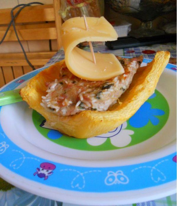 Блюдо для детей Кораблик