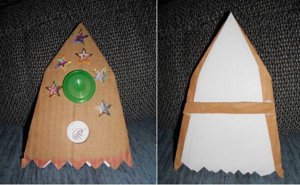 Ракета Поделка ко Дню Космонавтики