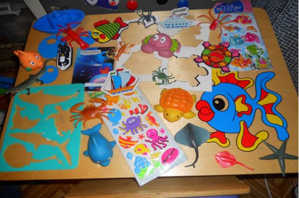 Игрушки на морскую тематику