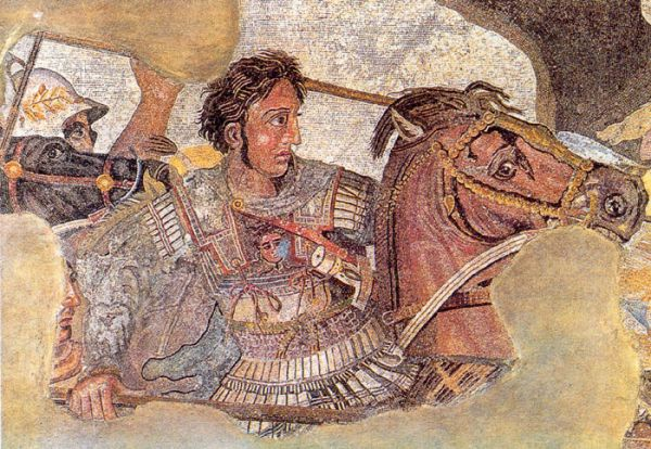 Битва Александра Македонского с персидским царем Дарием