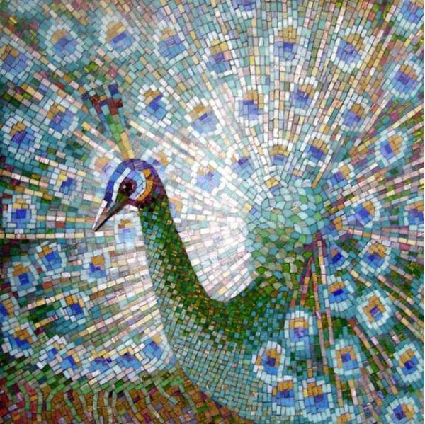 Укладка мозаики