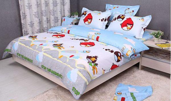 Украшения для детской спальни, сердитые птицы