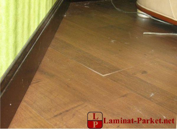 Некачественный ламинат
